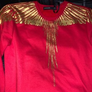 Red Hudson sweater
